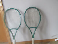 2 tennis racquets for sale
