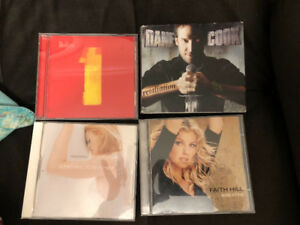 CDs - excellent condition! Faith Hill.Madonna. Dane Cook.Beatles