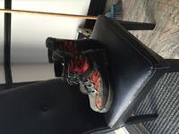 Flame Harley Davidson boots