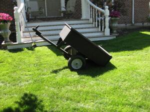 10 cubic foot tilt trailer ( SOLD)