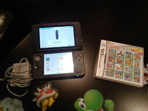 Nintendo 3ds console + charger + 482 DS games
