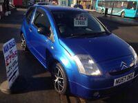 2007 CITREON C2 DESIRE - IDEAL FIRST CAR - LOW INSHURACE - LOW TAX - FULL MOT - £1395!!!
