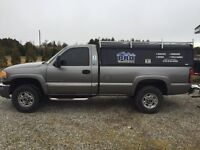 2006 GMC 2500 gas pick up truck