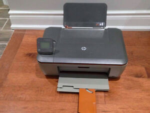 USB and Wireless Printer/Scanner- With 3 XL ink cartridges