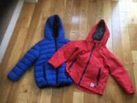 2 boys rain jackets coats from NEXT age 4-5