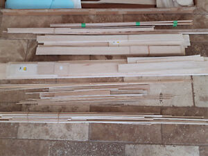 Balsa wood and covering for model airplanes