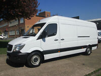 2014 14-REG Mercedes Sprinter 313CDI LWB HIGH ROOF. 1 OWNER. NEW SHAPE. PX