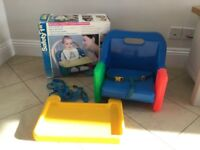Baby Boaster Seat and Play Chair, Travel Boaster Seat