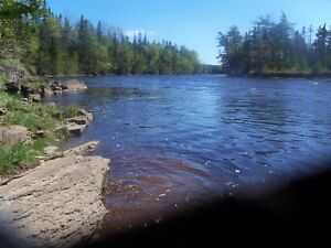 Water Frontage Property.Old farm 211 acre parcel of land