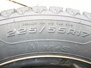 "225/55R 17""  Studded Winter Tires"