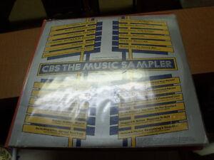 Rare.vinyl , CBS The Music Sampler,Promotional copy on Loan Only