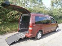 2014 Volkswagen Caddy Maxi Life 1.6 TDI 5dr DSG AUTO WHEELCHAIR ACCESSIBLE VE...