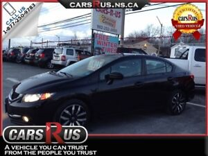 2014 Honda Civic Touring....includes 4 FREE winter tires!!