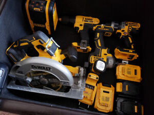 Dewalt Brushless Tools and Bags