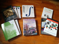 McMaster Engineering:  Physics, Chemistry and Math textbooks