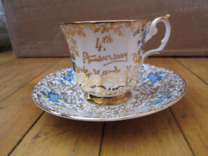 Elizabethan fine Bone China, 4th Anniversary