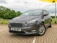 2018 Ford Focus 1.0T ECOBOOST ZETEC EDITION (S/S) 5DR SAT NAV   FROM 6.9%