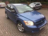 DODGE CALIBER AUTOMATIC BLUE 2008 LOW MILEAGE ONLY 64K MILES