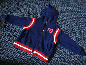 Boys Size 24 Months Varsity Style Hoodie