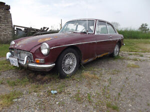 MGB GT Coupe, Project/Parts Car.
