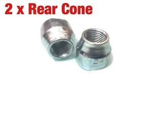 2 X Bike Cycle Bicycle Axle Rear Hub Cone Nut