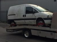 SCRAP CARS VANS 4x4 WILL COLLECT UP TP 10 PM BEST PRICES PAID