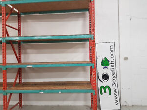 "Shelving heavy duty / shop storage 36"" depth"