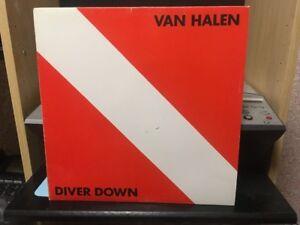 Vinyl-Van Halen-Diver Down