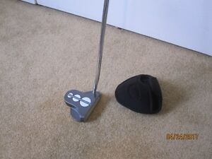 Odyssey Type  R/H Golf Putter/ with head cover.
