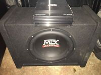 "MTX Terminator 12"" Car Subwoofer with 200W Amp"