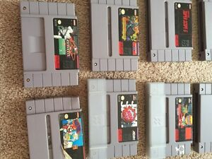 Assorted Super Nintendo games **will take best offers**