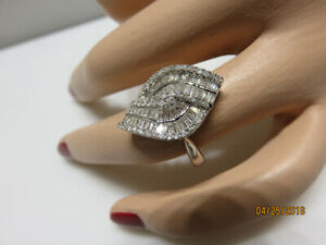 18KT White Gold Ladies Cocktail Ring - $1299.99 (IN HOUSE SALE)