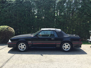 1988 Ford Mustang GT 5.0L Convertible