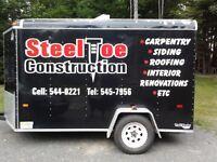 STEEL TOE CONSTRUCTION