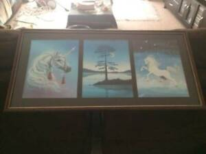Magical And Mystical Unicorn Laser Etched Hanging Picture