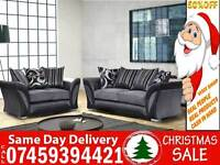 50% Off BRAND NEW 3 + 2 FABRIC SOFA SUITE ALSO IN CORNER