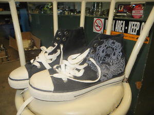 Harley Converse Running Shoes NEW! size 7