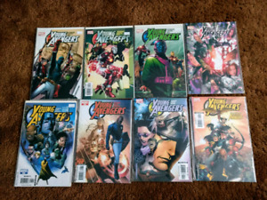 Young Avengers comic books