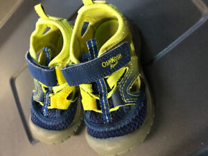 Toddler size 6 shoes - Stride rite, Carter's and Oshkosh