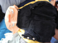 Stewie - Adult/Child size sweater, coveralls and rubber mask