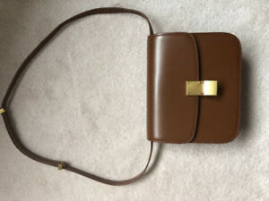 Classic box purse - Caramel color