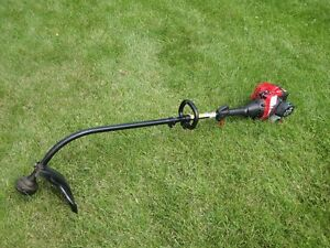 grass trimmer, gas powered