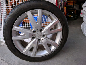 Winter tire and rim Set (4)