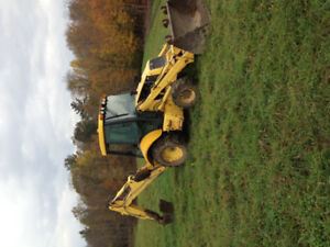 Rent Backhoe with Operator