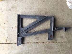 Patio seat brackets