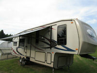 2011 Forest River Blue Ridge 2950RK 5th wheel trailer