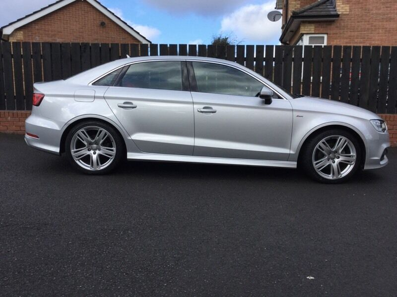 2014 audi a3 saloon s line s tronic 1 4 tfsi in moira county armagh gumtree. Black Bedroom Furniture Sets. Home Design Ideas