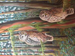 Barred owls at Skutz Falls