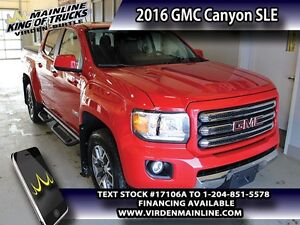 2016 GMC Canyon SLE   - Heated Seats - SiriusXM - $276.85 B/W -