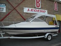 19' Bayliner Cuddy, 3 L Mercruiser & Trailer
